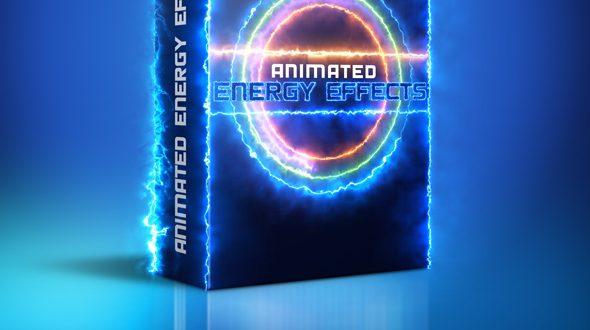 استفاده از این افکت ها انشعابات الکتریکی متحرک برای نرم افزار فتوشاپ -Animated Energy Effects Photoshop Action